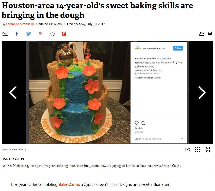 Andrew Nichols on Houston Chronicle 7-19-17